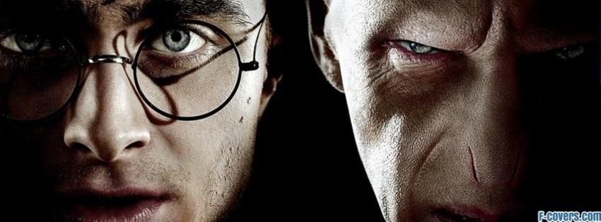 harry potter and the deathly hollows part two facebook cover
