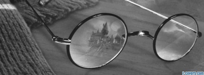 Harry Potter Book Facebook Cover : Harry potter glasses facebook cover timeline photo banner