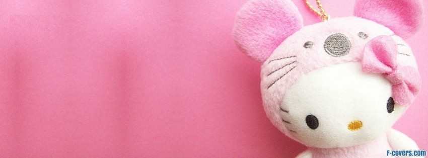 hello kitty cute facebook cover