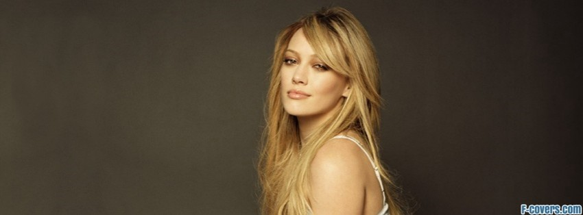 hilary duff most wanted facebook cover
