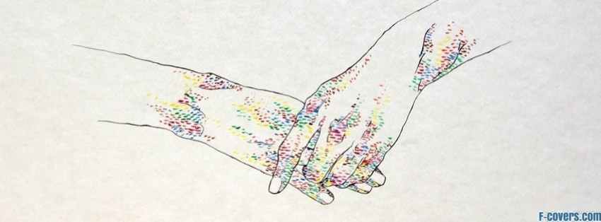 hipster hands 80s friendship facebook cover