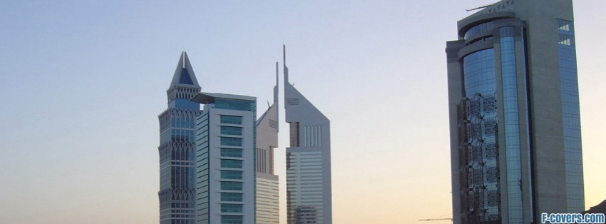 hotels dubai facebook cover
