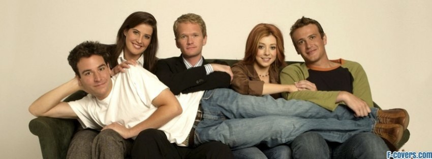 how i met your mother couch facebook cover