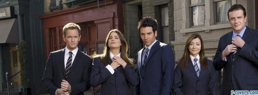 how i met your mother suit up facebook cover