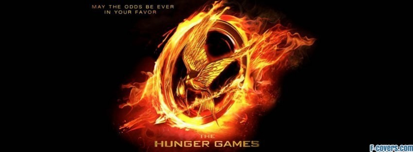 hunger games flaming mockingjay facebook cover