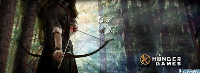 hunger games katniss darkness fanpop facebook cover