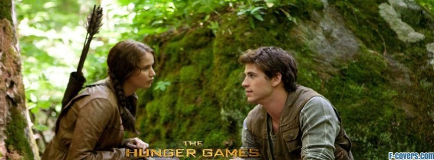 hunger games katniss gale facebook cover
