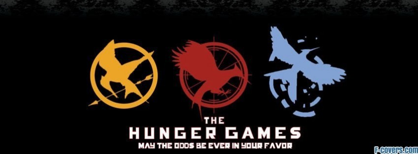 hunger games trilogy facebook cover