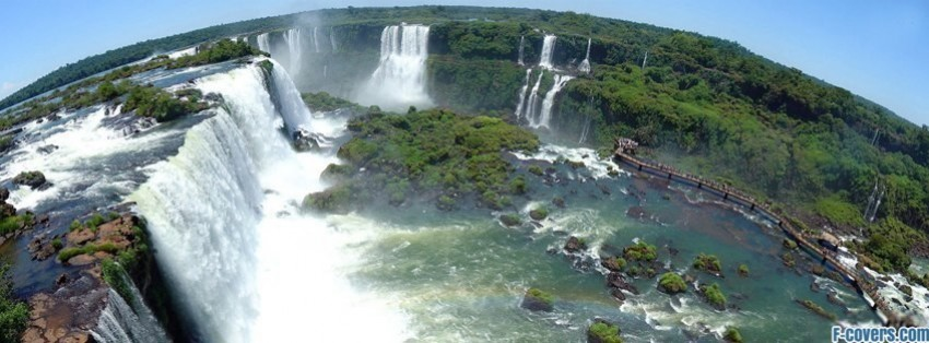 iguazu falls facebook cover