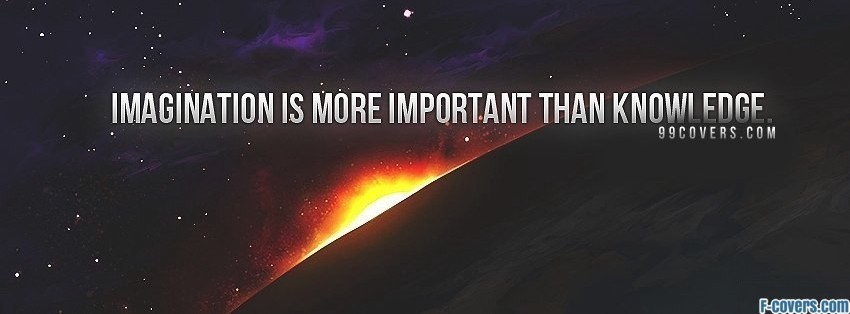 imagination quote Facebook Cover timeline photo banner for fb