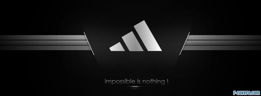 impossible is nothing facebook cover