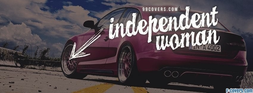 independent woman facebook cover