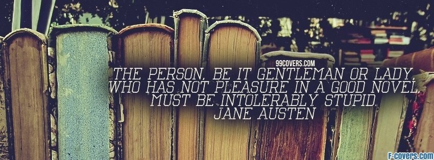 jane austen facebook cover