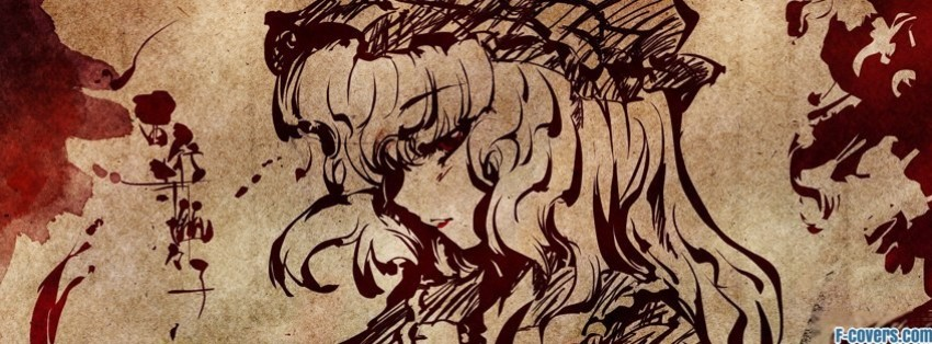 japanese art girl facebook cover