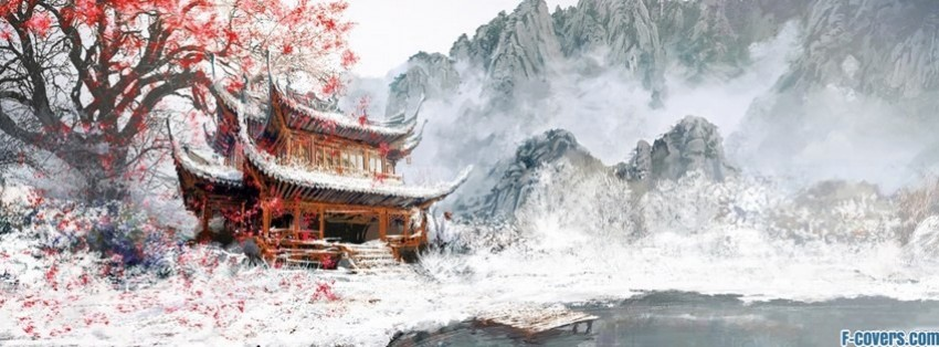 japanese art landscape facebook cover