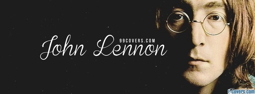 john lennon 2 facebook cover