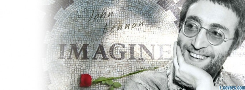 john lennon 4 facebook cover