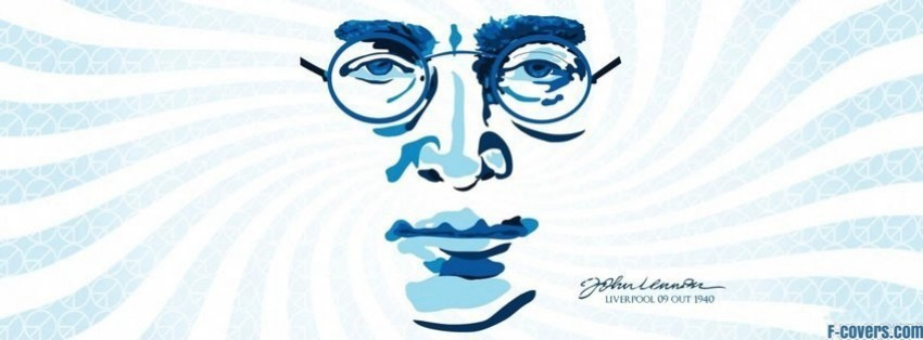 john lennon 5 facebook cover