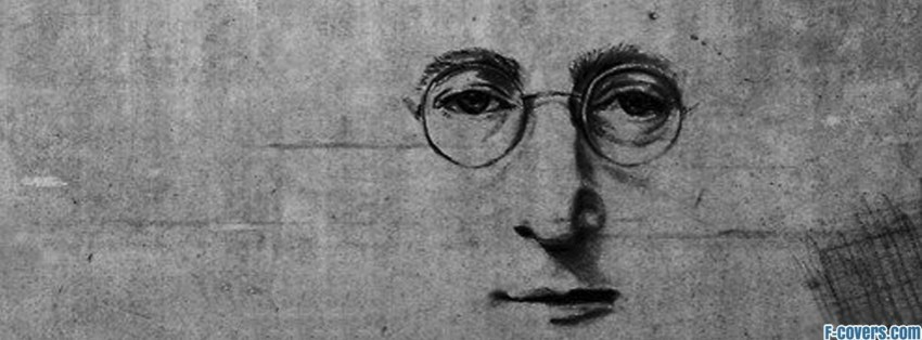 john lennon street art facebook cover