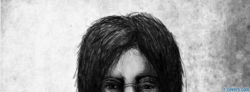 John Lennon The Beatles Facebook Cover