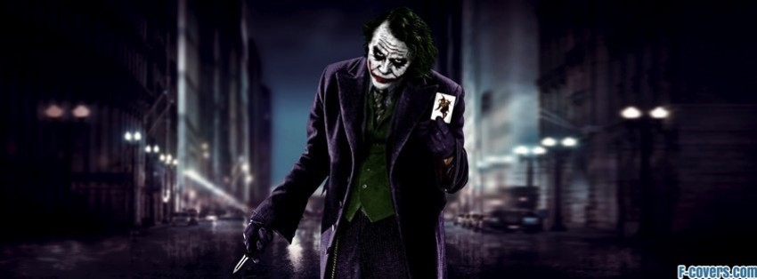 joker batman city facebook cover