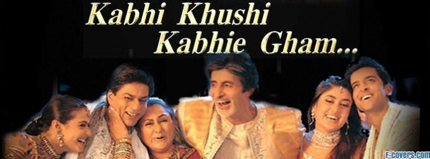 kabhi khushi kabhie gham facebook cover