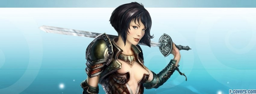 kings bounty armored princess amelie mage facebook cover