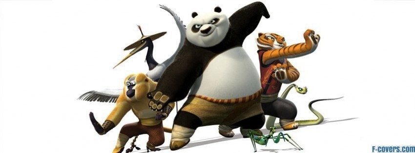 kung fu panda two facebook cover