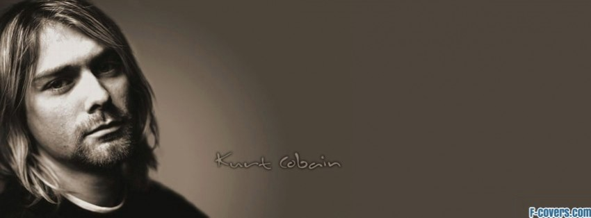 kurt cobain facebook cover