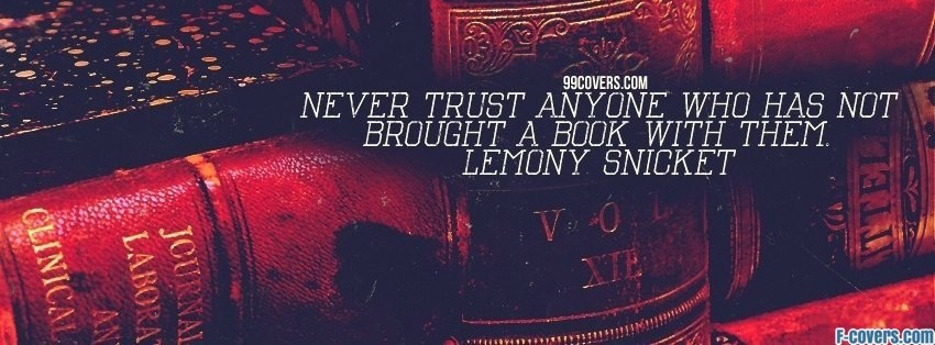 lemony snicket facebook cover