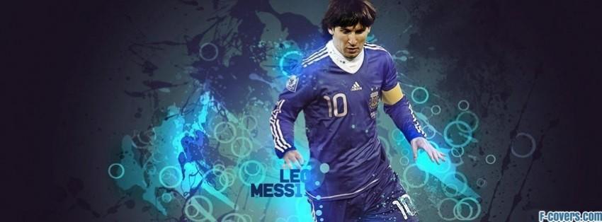 leo messi argentina facebook cover