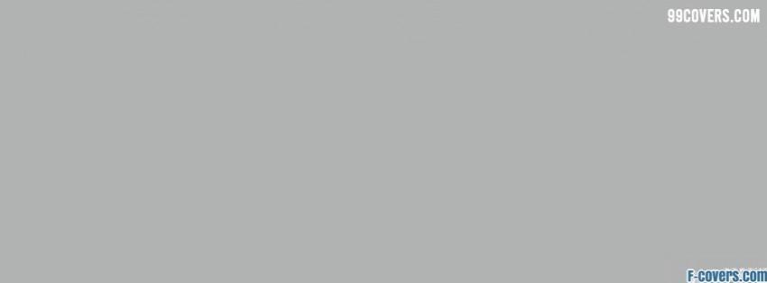light grey Facebook Cover timeline photo banner for fb