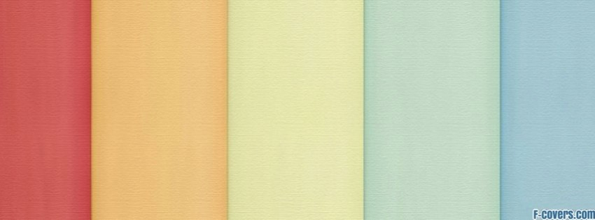 light rainbow facebook cover