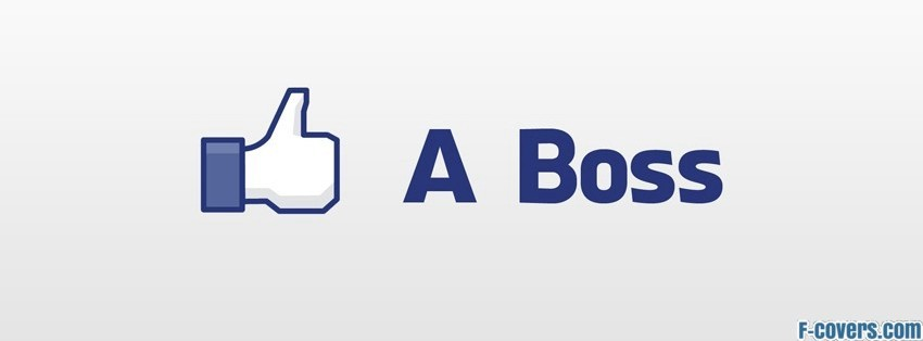 like a boss facebook cover