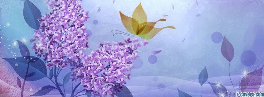 lilac facebook cover