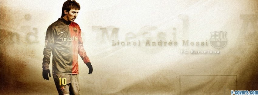 lionel andres messi facebook cover