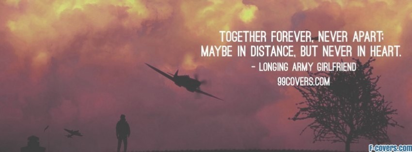 longing army girlfriend Facebook Cover timeline photo banner for fb