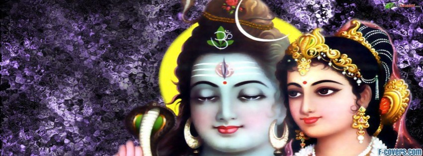 lord shiva parvati 2 facebook cover