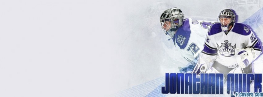 los angeles kings jonathan quick facebook cover