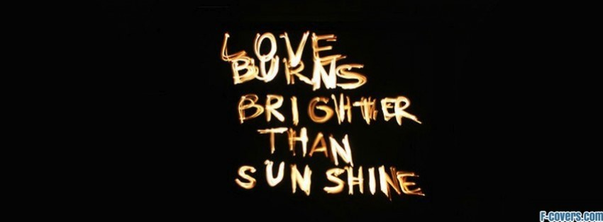 Facebook Cover Photo Sunshine Love Sunshine Facebook Cover