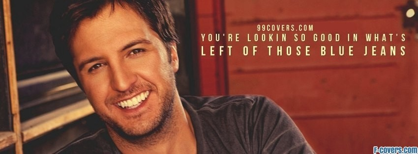 luke bryan lyrics facebook cover