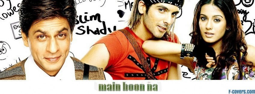 main hoon na facebook cover
