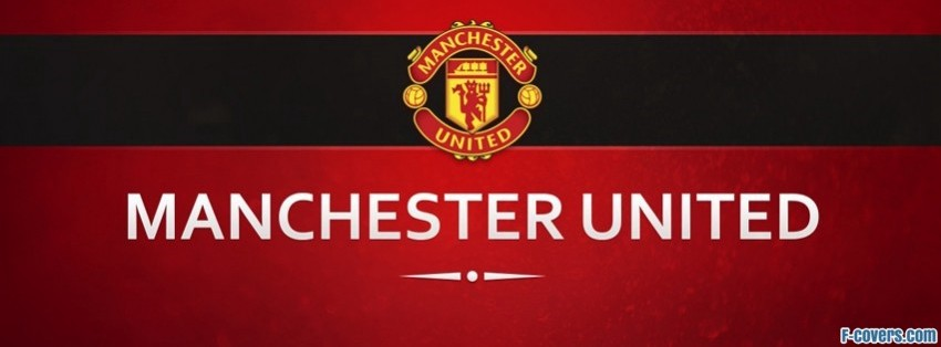 manchester united football club facebook cover