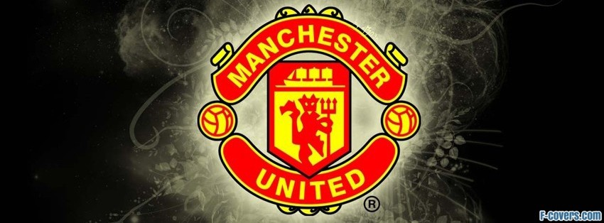 manchester united sign facebook cover