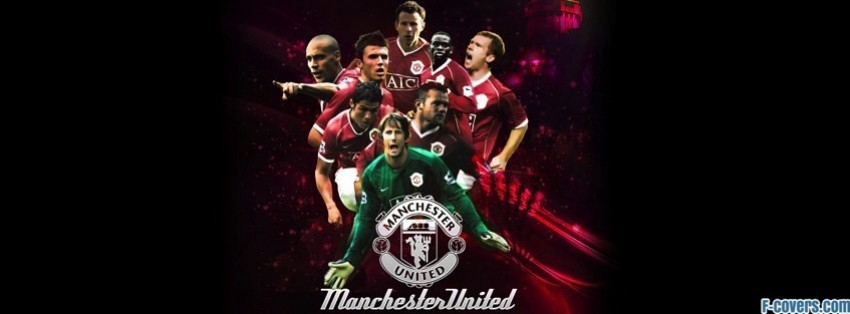 manchester united team facebook cover