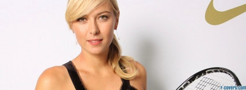 maria sharapova 3 facebook cover
