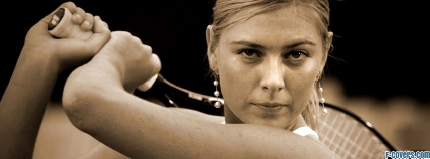 maria sharapova 6 facebook cover