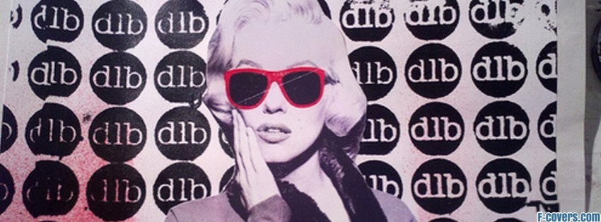 marilyn monroe vintage collage facebook cover