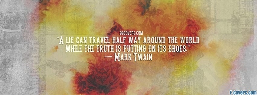 Mark Twain 2 1 Facebook Cover