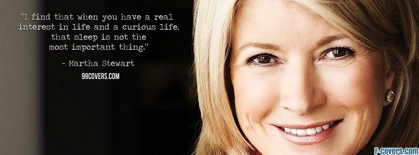 martha stewart facebook cover